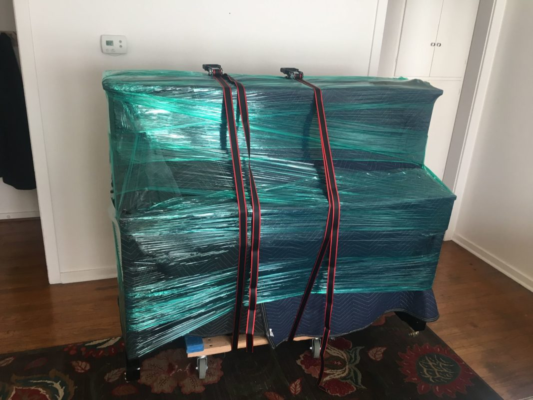 carefully packed items at big dog movers