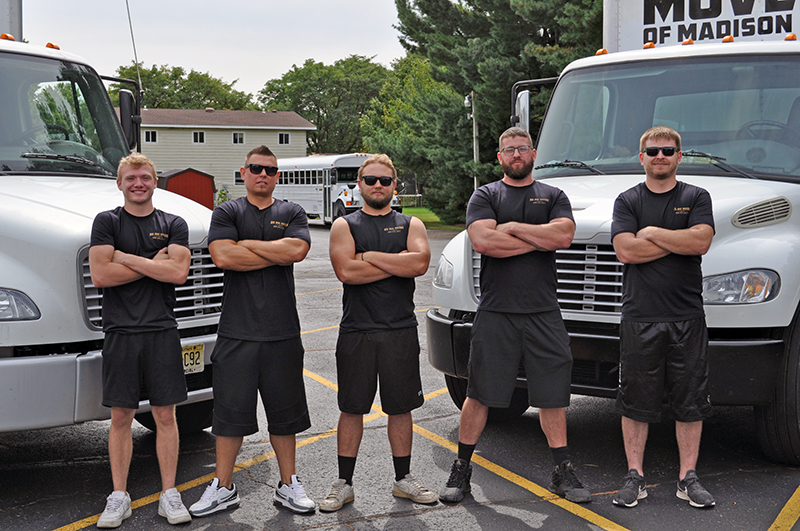 the movers are handpicked at big dog movers madison wi